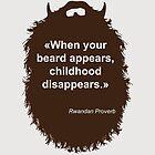 Beard-Collection - Childhood by DarkChoocoolat