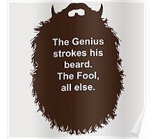 Beard-Collection - The Genius Poster