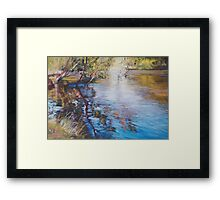 'Swirls & Ripples - Goulburn River' Framed Print