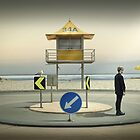 The roundabout by Adrian Donoghue