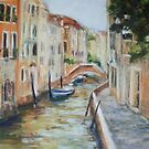 Venice - quiet canal by Terri Maddock
