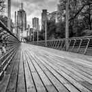 Walkway, Birrarung Marr Park by prbimages