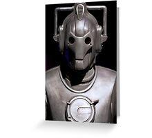 Cyberman! Greeting Card