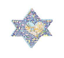 Star Of David by EllenBraun