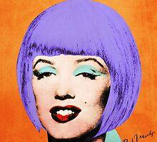 Bob Marilyn Monroe Variant 3 by filippobassano