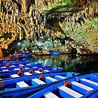 Boat ride in the underworld - Diros caves by Hercules Milas