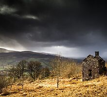 Dereliction in the Brecon Beacons. Uk. by Heidi Stewart