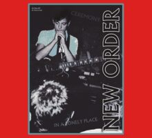New Order Fac 33 Ceremony / In a Lonely Place Live 1981 by Shaina Karasik