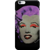 Vampire Marilyn variant 3 iPhone Case/Skin