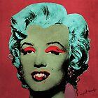 Vampire Marilyn variant 1 by filippobassano