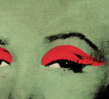 Vampire Marilyn variant 1 Sticker