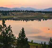 Methow Valley Sunset by lkamansky