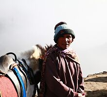 Mountain Dweller, East Java by Keith Thomson