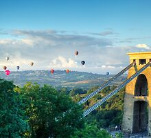 Adrift Over Bristol by DanCookePhotos