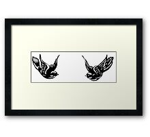 Harry Styles' tattoos Framed Print