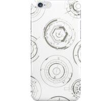 Grinding My Grey Gears iPhone Case/Skin