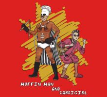Muffin Man and Cardigirl by AParry