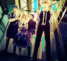 Tokyo Ghoul (Toukyou Kushu) Kaneki, Hinami,Tsukiyama & Banchou by nekyobot