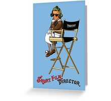 Short Film Director Greeting Card