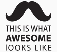 Awesome Mustache by pencreations