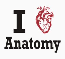 I heart Anatomy Kids Clothes