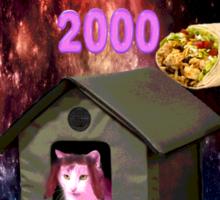 Mimi Kitty Houses 2000 Sticker