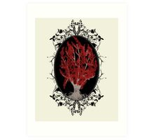 Weirwood Tree Art Print