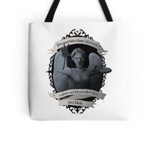 Weeping Angel - Doctor Who Tote Bag