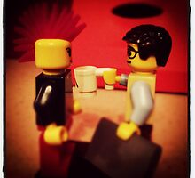 Lego Love at First Byte by MonkeyFondue