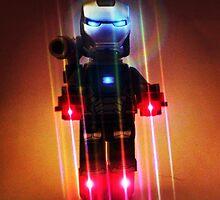Lego ironman by MonkeyFondue