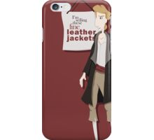 Fine Leather Jackets iPhone Case/Skin