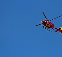 Chopper in the sky by ajg5