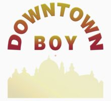 Just A Downtown Boy by Vy Solomatenko