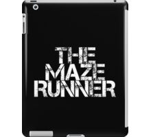 The Maze Runner (White) iPad Case/Skin