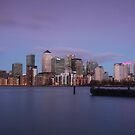 Docklands Dusk by Ursula Rodgers Photography