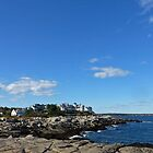Coastline, York/Maine by Bine
