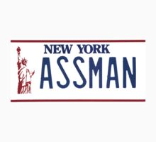 Cosmo Kramer Seinfeld Assman New York NY plate by datthomas