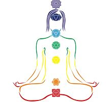 The Seven Chakras in Meditation by annekulinski
