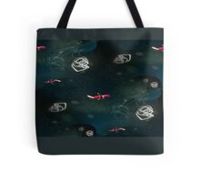 leaving on a jet plane ...  Tote Bag