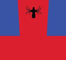 Minimalist Spider Man Design by canossagraphics