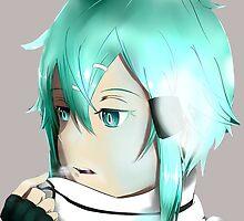 Sinon Sword Art Online 2 by joel7149