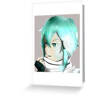 Sinon Sword Art Online 2 Greeting Card