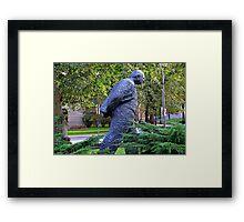 Winston Churchill © Framed Print