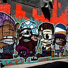 Street Art  -  Minns Lane Geelong  #3 by bekyimage