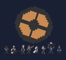 Pixel Fortress 2 - Blu by Scott Duncan
