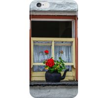 Traditional Cottage Window - Bunratty - County Clare - Ireland iPhone Case/Skin
