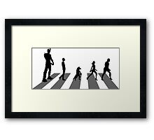 Guardians of the Galaxy - Abbey Road Beatles Framed Print