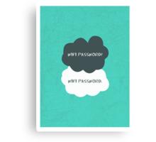 Wifi Password Canvas Print