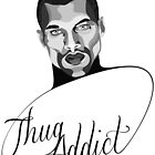 Thug Addict #1 v.3 by Shane  Luskie