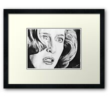 Dana Scully- Pusher Framed Print